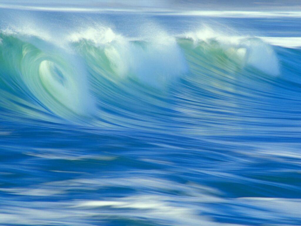 ocean, vague