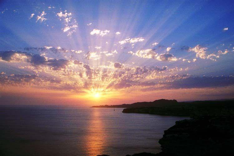 Paysages couchers de soleil page 15 - Fond ecran coucher de soleil sur la mer ...